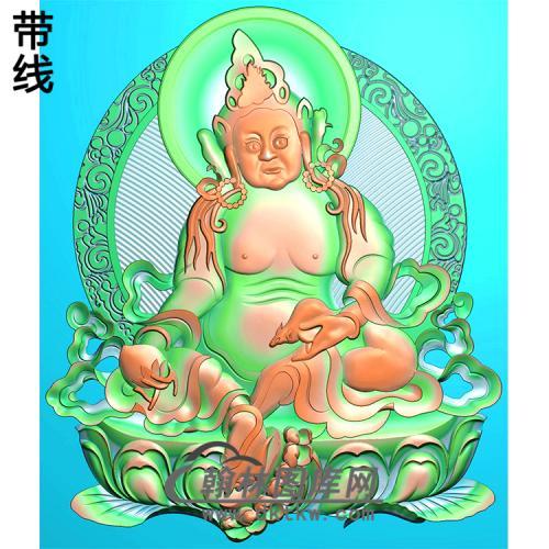 藏佛精雕图(ZF-015)
