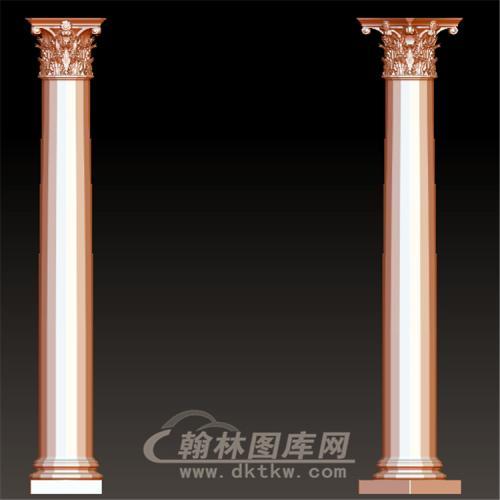 欧式柱子立体圆雕图(LMZ-038)