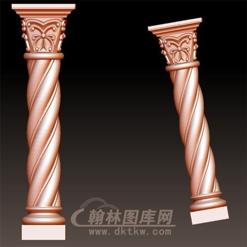 欧式柱子立体圆雕图(LMZ-042)