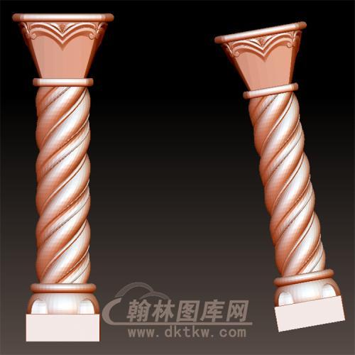 欧式罗马柱立体圆雕图(LMZ-045)