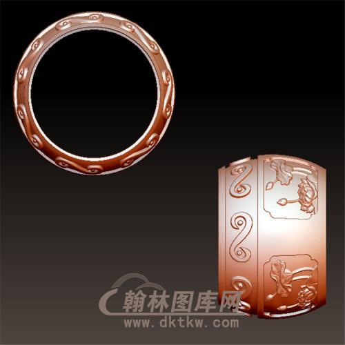 圆鼓立体圆雕图(YZC-002)