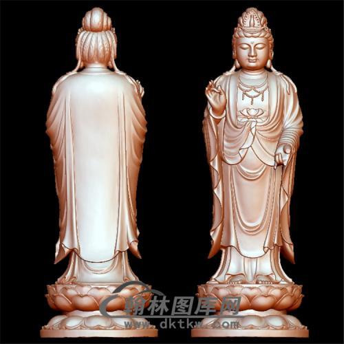浙江观音立体圆雕图(YGY-144)