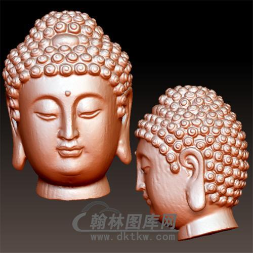 佛像立体圆雕图(YFX-004)