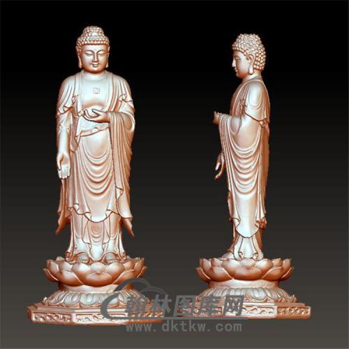 佛像佛祖立体圆雕图(YFX-014)