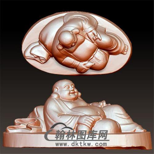 弥勒佛立体圆雕图(YML-135)
