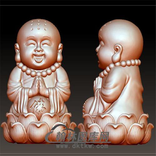 九戒小和尚立体圆雕图(BBF-030)