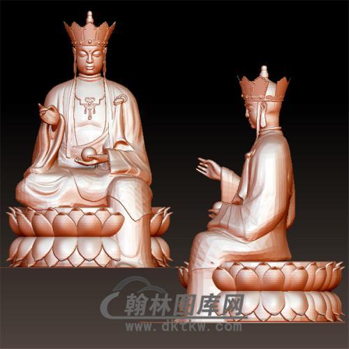 唐三藏立体圆雕图(YQT-051)