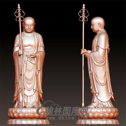 唐僧立体圆雕图(YQT-052)