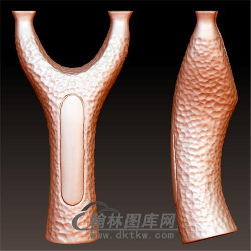纹理弹弓立体圆雕图(YDG-011)