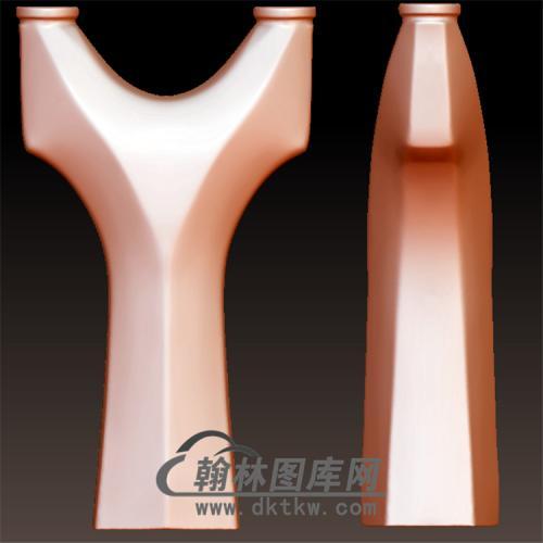 八棱立体圆雕图(YDG-027)