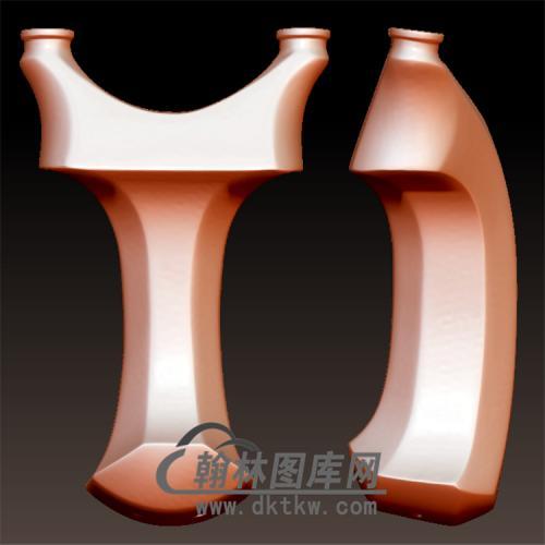 弹弓立体圆雕图(YDG-047)