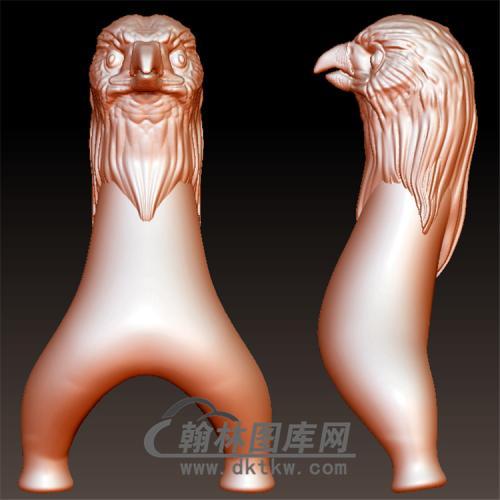 鹰头弹弓改弓头弹弓立体圆雕图(YDG-054)