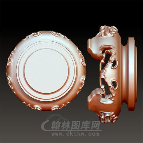 底座立体圆雕图(YDZ-004)