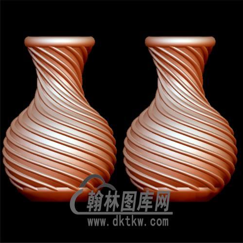 花瓶立体圆雕图(YHL-008)
