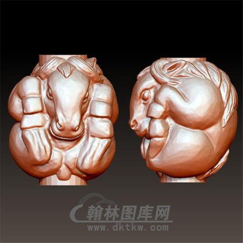 马手球立体圆雕图(YSQ-015)