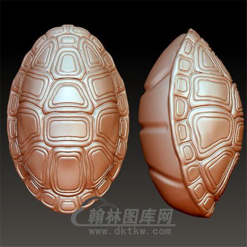 龟壳立体圆雕图(YSQ-035)