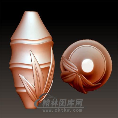 核雕竹节手串立体圆雕图(YSQ-036)