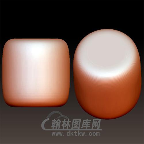光面桶珠立体圆雕图(YSQ-047)