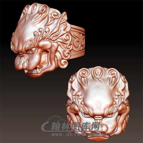 龙戒指立体圆雕图(YSJ-003)