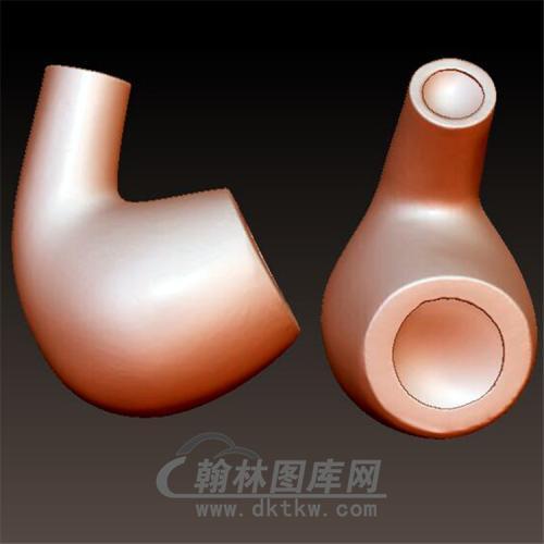 烟斗立体圆雕图(YYD-004)