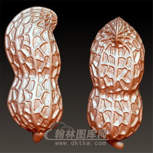 花生立体圆雕图(YZW-008)
