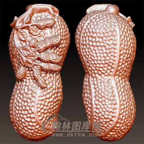 挂件花生精品立体圆雕图(YZW-019)